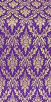 Small Tavriya metallic brocade (violet/gold)