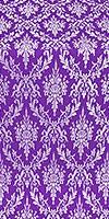 Small Tavriya metallic brocade (violet/silver)