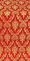 Small Tavriya metallic brocade (red/gold)