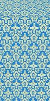 Venets silk (rayon brocade) (blue/gold)