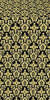 Venets metallic brocade (black/gold)