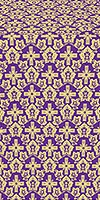 Venets silk (rayon brocade) (violet/gold)