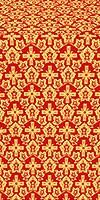 Venets silk (rayon brocade) (red/gold)