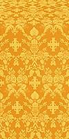 Fevroniya metallic brocade (yellow/gold)
