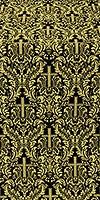 Ligouriya metallic brocade (black/gold)