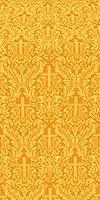 Ligouriya metallic brocade (yellow/gold)