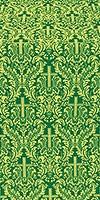 Ligouriya metallic brocade (green/gold)