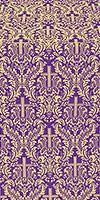 Ligouriya metallic brocade (violet/gold)