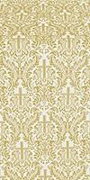 Ligouriya metallic brocade (white/gold)