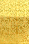Salim silk (rayon brocade) (yellow/gold)