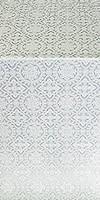 Salim metallic brocade (white/silver)