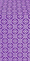 Poutivl' metallic brocade (violet/silver)