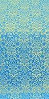 Klionik metallic brocade (blue/gold)