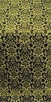 Klionik metallic brocade (black/gold)