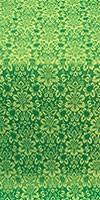 Klionik metallic brocade (green/gold)