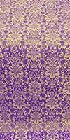 Klionik metallic brocade (violet/gold)