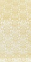 Klionik metallic brocade (white/gold)