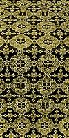 Piligrim metallic brocade (black/gold)