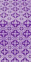 Piligrim metallic brocade (violet/silver)