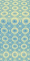 Samara metallic brocade (blue/gold)