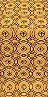 Samara metallic brocade (claret/gold)