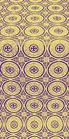 Samara metallic brocade (violet/gold)