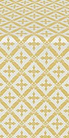 Polistavrion metallic brocade (white/gold)