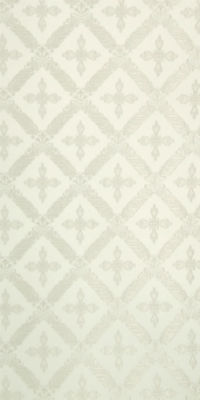 Polistavrion metallic brocade (white/silver)