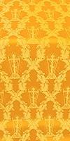 Golgotha metallic brocade (yellow/gold)