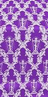 Golgotha metallic brocade (violet/silver)