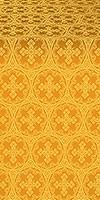 Paschal Cross metallic brocade (yellow/gold)