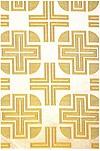 Yanina metallic brocade (white/gold)