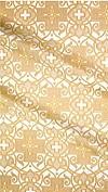Wrought Cross metallic brocade (white/gold)