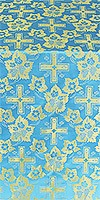 Malina Cross metallic brocade (blue/gold)