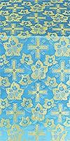 Malina Cross metallic brocade (blue/gold)
