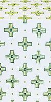 Greek Polistavrion metallic brocade (green/gold)