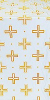 Greek Polistavrion metallic brocade (yellow/gold)