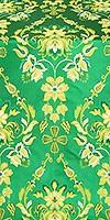 Antiokhiya metallic brocade (green/gold)