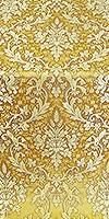 Tavriya metallic brocade (yellow/gold)