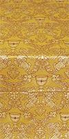 Greek Chalice metallic brocade (yellow/gold)