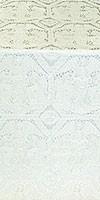 Trinity metallic brocade (white/silver)