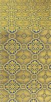 Miletus metallic brocade (blue/gold)