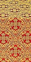 Pharos metallic brocade (red/gold)