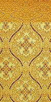 Pharos metallic brocade (yellow/gold)