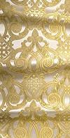 Terem metallic brocade (white/gold)