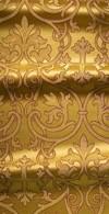 Macedonian metallic brocade (yellow/gold)