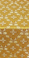 Lily metallic brocade (yellow/gold)