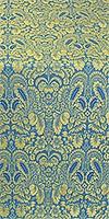 Morozko metallic brocade (blue/gold)