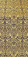 Morozko metallic brocade (violet/gold)