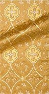 Irakli metallic brocade (yellow/gold)